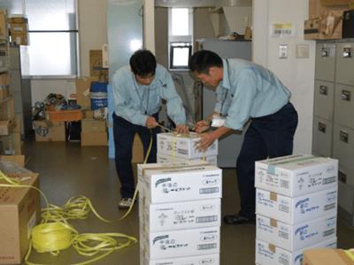 台風19号被害支援物資の提供